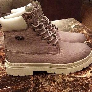 Gray Lugz boots